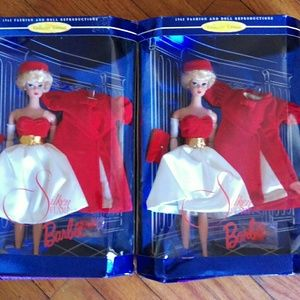 barbie Other - 2 Silken Flame Barbies in box